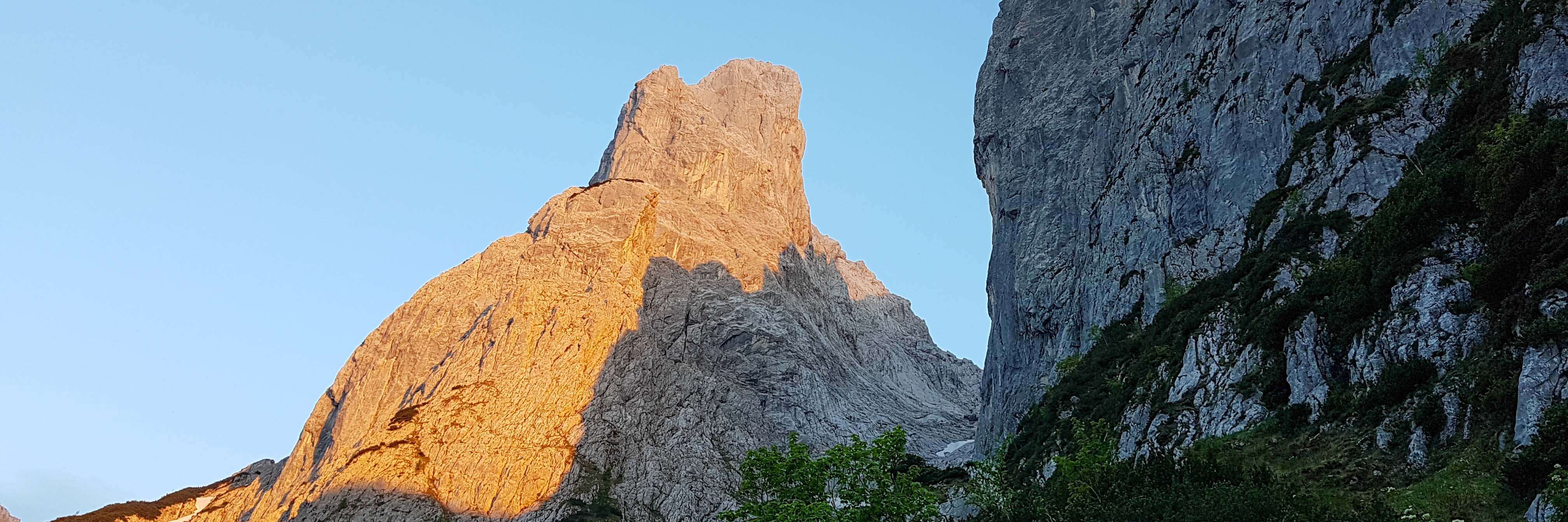 Wilderkaiser Kletterkurs